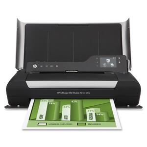 HP Officejet 150 Inkjet Multifunction Printer - Color - Plain Paper Print - Desktop HEWCN550A