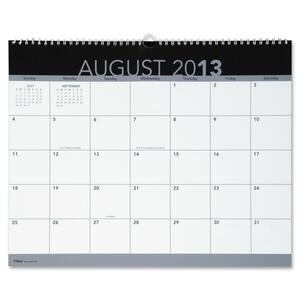 At-A-Glance Academic Unruled Wall Calendar AAG60252190