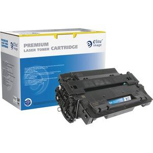 Elite Image Remanufactured High Yield MICR Toner Cartridge Alternative For HP 55X (CE255X)