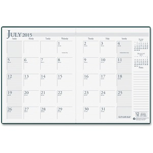 House of Doolittle Leatherette Academic Monthly Planner HOD26104