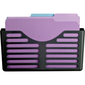 Lorell Plastic Wall/Cubicle Pocket File LLR80663