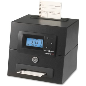 Pyramid 5000HD Heavy Duty Auto Totaling Time Clock PTI5000HD
