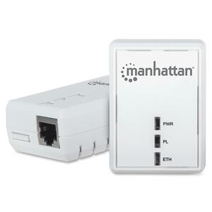 Manhattan HomePlug AV500 Adapter Starter Kit (2 Adapters) MHT506670
