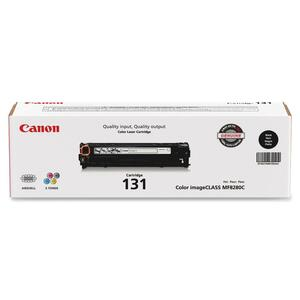 Canon Laser Printer Toner Cartridge CNMCRTDG131BK