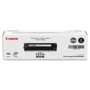 Canon 131 Toner Cartridge - Black CNMCRTDG131HYBK