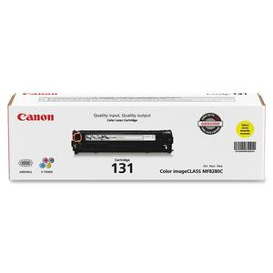 Canon 131 Toner Cartridge - Yellow CNMCRTDG131Y