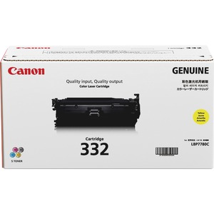 Canon 332 Toner Cartridge - Yellow CNMCRTDG332Y