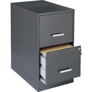 "Lorell SOHO 22"" 2-Drawer File Cabinet LLR16871"