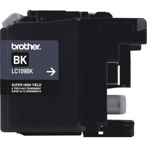 Brother Ink Cartridge, 2400 Page Yield, Black BRTLC109BK