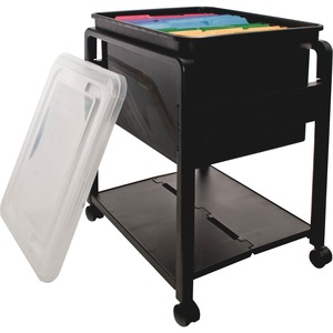 Advantus Folding Mobile Filing Cart AVT55758