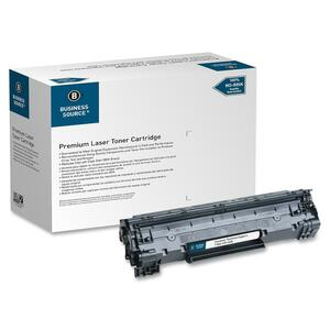 Business Source Toner Cartridge - Remanufactured for HP (CE285A) - Black BSN38726
