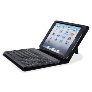 Compucessory Keyboard/Cover Case (Portfolio) for iPad mini - Black CCS50920