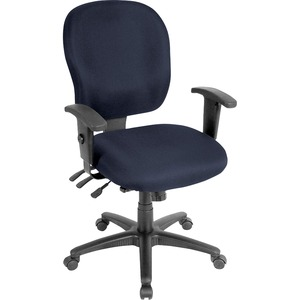 Lorell Adjustable Waterfall Design Task Chair LLR3310001