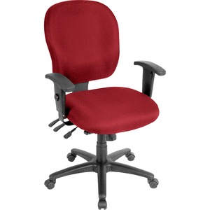 Lorell Adjustable Waterfall Design Task Chair LLR3310002