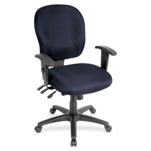 Lorell Adjustable Waterfall Design Task Chair LLR3310010