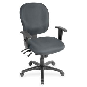 Lorell Adjustable Waterfall Design Task Chair LLR33101