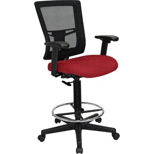 Lorell Breathable Mesh Drafting Stool LLR4310002