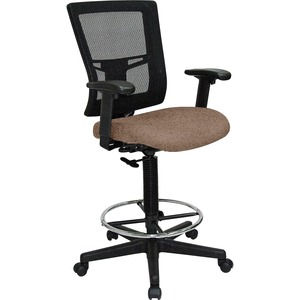 Lorell Breathable Mesh Drafting Stool LLR4310003