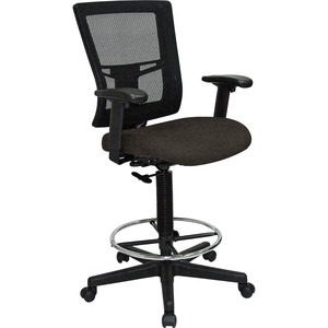 Lorell Breathable Mesh Drafting Stool LLR4310004