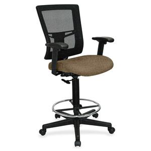 Lorell Breathable Mesh Drafting Stool LLR4310006