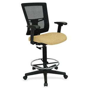 Lorell Breathable Mesh Drafting Stool LLR4310007