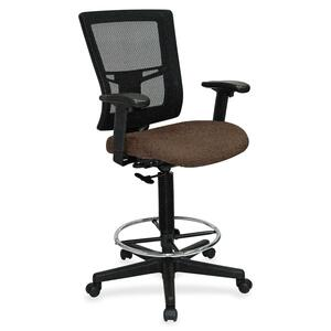 Lorell Breathable Mesh Drafting Stool LLR4310008