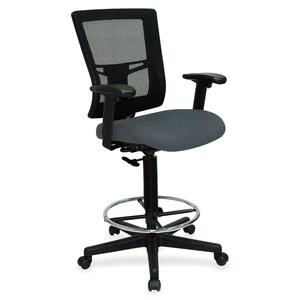 Lorell Breathable Mesh Drafting Stool LLR43101