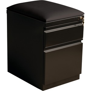 Lorell Mobile Pedestal File with Seating LLR49539