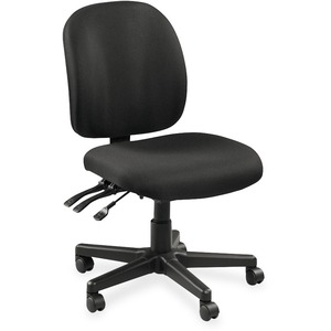 Lorell Mid-Back Task Chair w/o Arms LLR53100