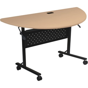 Lorell Flipper Half Round Training Table LLR60658