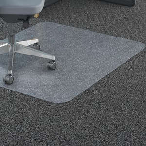 Lorell Rectangular Polycarbonate Chair Mat LLR69705