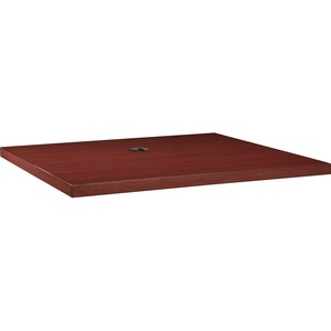 Lorell Modular Mahogany Conference Table LLR69930