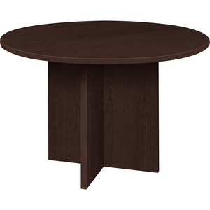 Lorell Prominence 79000 Series Espresso Round Conference Table LLR79053