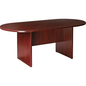 Lorell Prominence 79000 Series Mahogany Round Conference Table LLR79128
