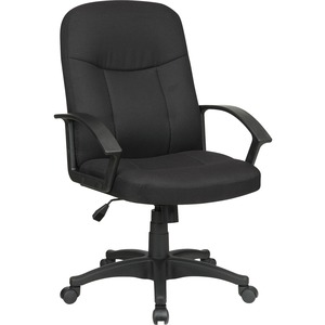 Lorell Executive Fabric Mid-Back Chair LLR84552