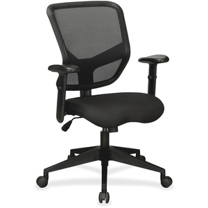 Lorell Executive Mesh Mid-Back Chair LLR84565