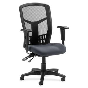 Lorell 86000 Series Executive Mesh High-Back Chair LLR8620005