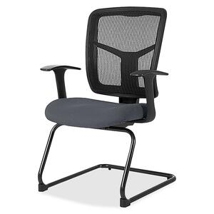 Lorell 86000 Series Mesh Side Arm Guest Chair LLR8620205