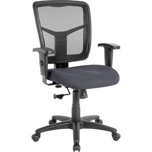 Lorell Managerial Mesh Mid-Back Chair LLR8620905