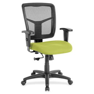 Lorell Managerial Mesh Mid-back Chair LLR8620909