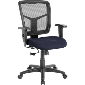 Lorell Managerial Mesh Mid-back Chair LLR8620910