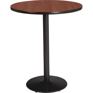 Lorell Bistro-Height Laminate Table with Base LLR89062