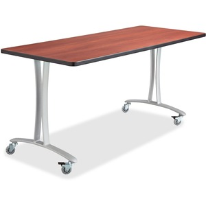 Safco Cherry Rumba Training Table w/ T-legs SAF2094CYSL