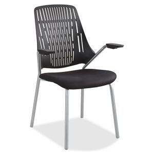 Safco Thrill Frameless Back Guest Chair SAF7044BL