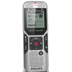 Philips Voice Tracer Digital Recorder with 2 Mic Stereo Recording PSPDVT140000