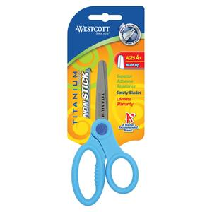 "Westcott Titanium Nonstick Kids 5"" Scissors ACM15458"