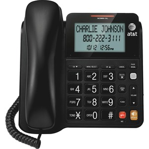 AT&T CL2940 Standard Phone - Black ATTCL2940