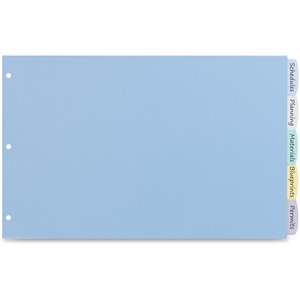 Avery Translucent Durable Write-on Dividers AVE16131