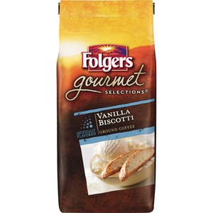 Folgers Vanilla Biscotti Gourmet Ground Coffee Ground FOL20136