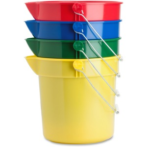 Genuine Joe 4-Pack 10 qt. Utility Buckets GJO02346